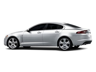 2009 Jaguar XF Pictures XF Sedan 4D 4.2 Premium Luxury photos side rear view