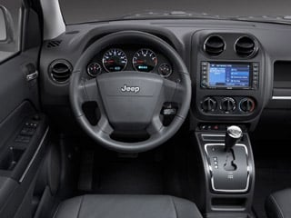2009 Jeep Compass Pictures Compass Utility 4D Sport 2WD photos driver's dashboard