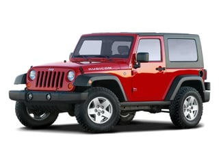 2009 Jeep Wrangler Pictures Wrangler Utility 2D X 4WD photos side front view