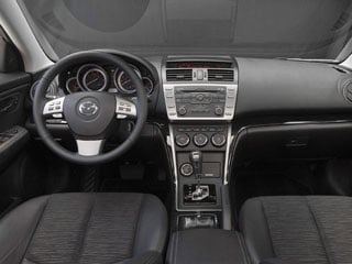 2009 Mazda Mazda6 Pictures Mazda6 Sedan 4D s Touring photos full dashboard