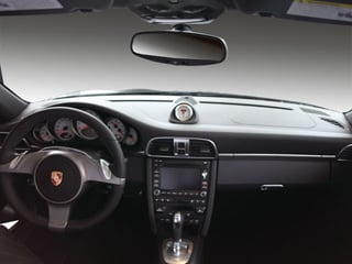 2009 Porsche 911 Pictures 911 Cabriolet 2D 4S AWD photos full dashboard