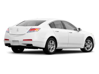 2010 Acura TL Pictures TL Sedan 4D AWD photos side rear view