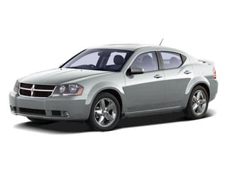 2010 Dodge Avenger Pictures Avenger Sedan 4D R/T 2.7 photos side front view