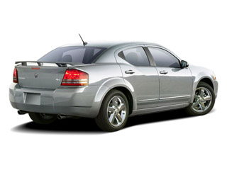 2010 Dodge Avenger Pictures Avenger Sedan 4D R/T 2.7 photos side rear view