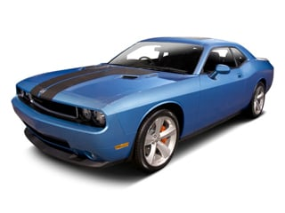 2010 Dodge Challenger Pictures Challenger Coupe 2D R/T photos side front view