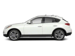 2010 INFINITI EX35 Pictures EX35 Wagon 4D AWD photos side view