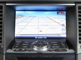 2010 INFINITI FX35 Pictures FX35 FX35 AWD photos navigation system
