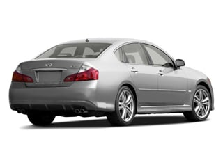 2010 INFINITI M45 Pictures M45 Sedan 4D AWD photos side rear view
