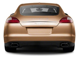 2010 Porsche Panamera Pictures Panamera Hatchback 4D S photos rear view