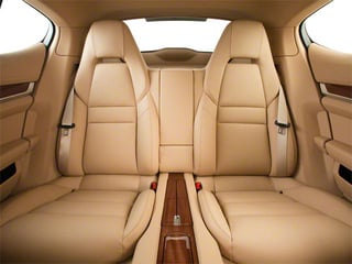 2010 Porsche Panamera Pictures Panamera Hatchback 4D Turbo AWD photos backseat interior