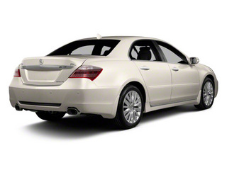 2011 Acura RL Pictures RL Sedan 4D Technology photos side rear view