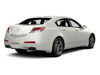 2011 Acura TL Pictures TL Sedan 4D Technology AWD photos side rear view