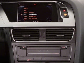 2011 Audi A4 Pictures A4 Wagon 4D 2.0T Avant Quattro photos stereo system