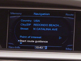 2011 Audi A5 Pictures A5 Convertible 2D Prestige photos navigation system