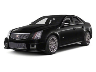 2011 Cadillac CTS-V Sedan Pictures CTS-V Sedan 4D V-Series photos side front view