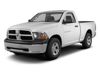 2011 Ram Truck 1500 Pictures 1500 Regular Cab Tradesman 4WD photos side front view