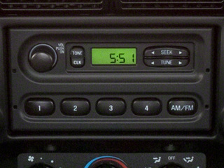 2011 Ford Ranger Pictures Ranger Regular Cab XL photos stereo system