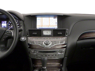 2011 INFINITI M37 Pictures M37 Sedan 4D photos center dashboard