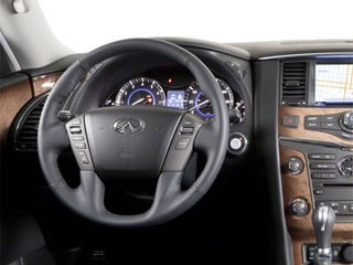 2011 INFINITI QX56 Pictures QX56 Utility 4D 4WD photos driver's dashboard