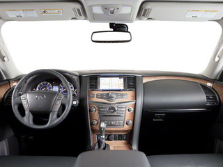 2011 INFINITI QX56 Pictures QX56 Utility 4D 4WD photos full dashboard