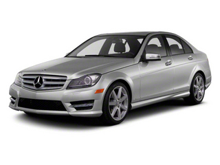 2011 Mercedes-Benz C-Class Pictures C-Class Sport Sedan 4D C350 photos side front view