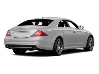 2011 Mercedes-Benz CLS-Class Pictures CLS-Class Sedan 4D CLS63 AMG photos side rear view