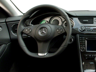 2011 Mercedes-Benz CLS-Class Pictures CLS-Class Sedan 4D CLS63 AMG photos driver's dashboard