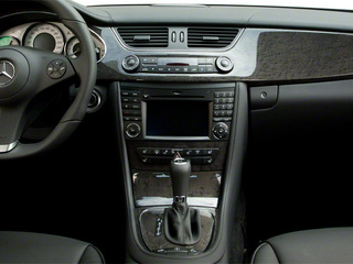 2011 Mercedes-Benz CLS-Class Pictures CLS-Class Sedan 4D CLS63 AMG photos center console