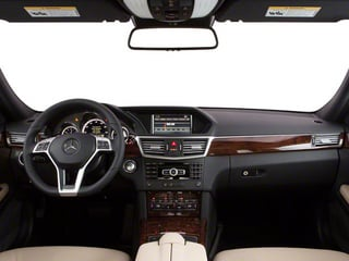 2011 Mercedes-Benz E-Class Pictures E-Class Sedan 4D E550 AWD photos full dashboard