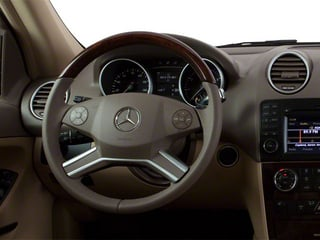 2011 Mercedes-Benz M-Class Pictures M-Class Utility 4D ML350 2WD photos driver's dashboard