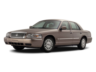 2011 Mercury Grand Marquis Pictures Grand Marquis Sedan 4D LS photos side front view