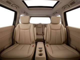 2011 Nissan Quest Pictures Quest Van 3.5 SL photos backseat interior