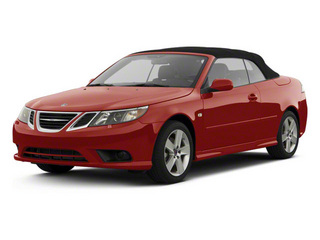 2011 Saab 9-3 Pictures 9-3 Convertible 2D Aero Turbo photos side front view