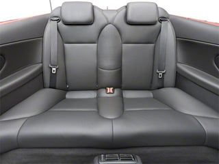 2011 Saab 9-3 Pictures 9-3 Convertible 2D Aero Turbo photos backseat interior