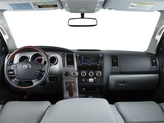 2011 Toyota Sequoia Pictures Sequoia Utility 4D Limited 4WD photos full dashboard