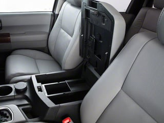 2011 Toyota Sequoia Pictures Sequoia Utility 4D Limited 4WD photos center storage console