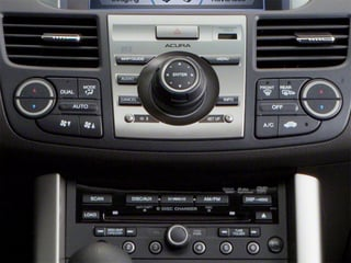 2012 Acura RDX Pictures RDX Utility 4D Technology 2WD photos stereo system