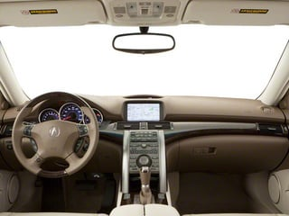 2012 Acura RL Pictures RL Sedan 4D Technology photos full dashboard