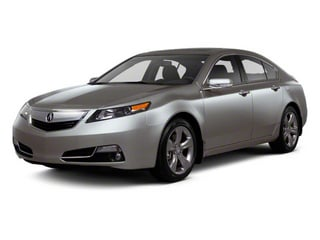 2012 Acura TL Pictures TL Sedan 4D Advance AWD photos side front view