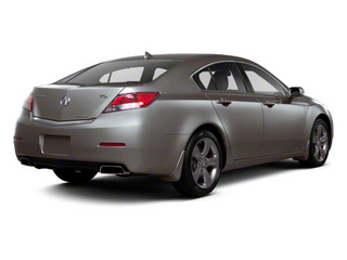 2012 Acura TL Pictures TL Sedan 4D Advance AWD photos side rear view