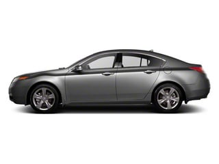 2012 Acura TL Pictures TL Sedan 4D Advance AWD photos side view
