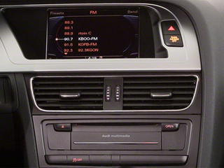 2012 Audi A4 Pictures A4 Wagon 4D 2.0T Quattro Prestige photos stereo system