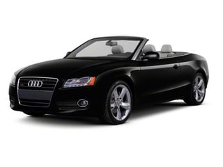 2012 Audi A5 Pictures A5 Convertible 2D Premium Plus photos side front view