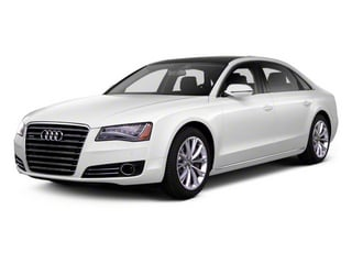 2012 Audi A8 L Pictures A8 L Sedan 4D 6.3 Quattro L photos side front view
