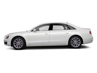 2012 Audi A8 L Pictures A8 L Sedan 4D 4.2 Quattro L photos side view
