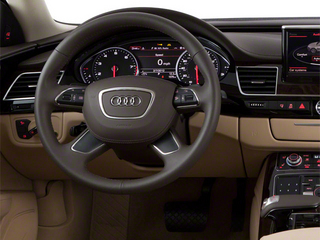 2012 Audi A8 L Pictures A8 L Sedan 4D 4.2 Quattro L photos driver's dashboard