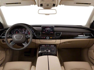 2012 Audi A8 L Pictures A8 L Sedan 4D 6.3 Quattro L photos full dashboard