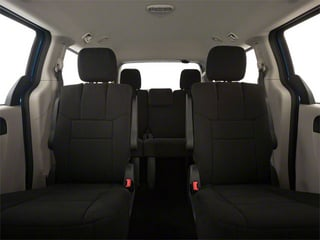 2012 Dodge Grand Caravan Pictures Grand Caravan Grand Caravan SE photos backseat interior