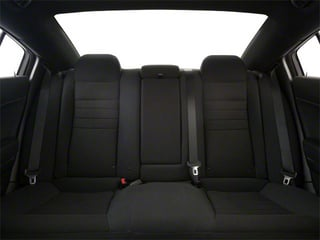 2012 Dodge Charger Pictures Charger Sedan 4D SRT-8 photos backseat interior