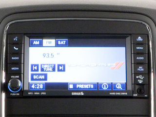 2012 Dodge Durango Pictures Durango Utility 4D R/T AWD photos stereo system